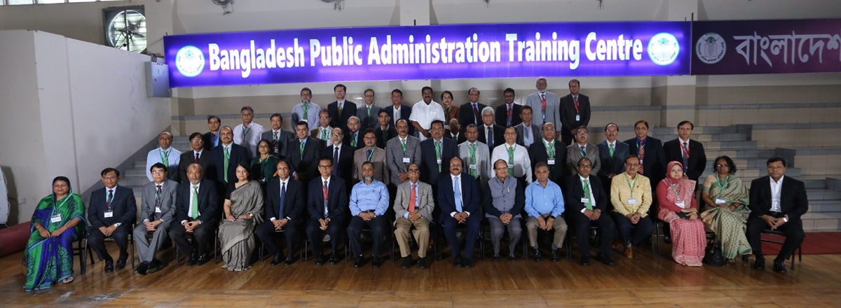 1st Policy Dialogue for Senior Secretaries/Secretaries to the Government of Bangladesh